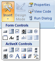 Insert Check box - Excel