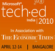 "Speaking at TechEd 2010 on ""How to Select the Right Chart for your Data"""