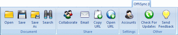 OffiSync Toolbar for Excel (Microsoft Office Add-ins)