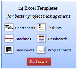 The Project Management Bundle for Excel is Here, Download your copy today
