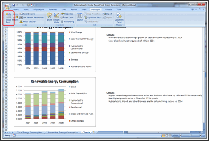 Excel to PowerPoint using VBA - Step 3c